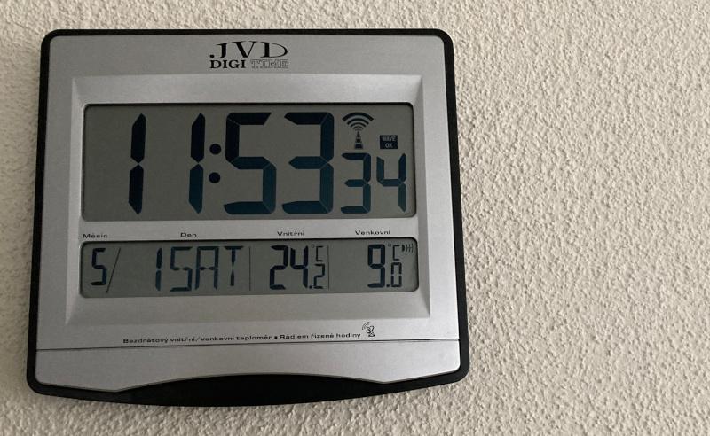 JVD Digi Clock